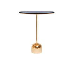 Tray It - Side Table - brass von Stabörd | Beistelltische