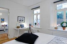 Планировка малогабаритных квартир: как сделали просторной квартиру в Швеции площадью 47 кв м