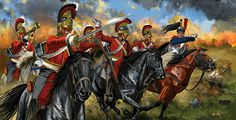Life Guards charge French cuirassiers