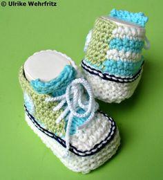 Babyschuhe  Turnschuhe von stricklienes lädchen auf DaWanda.com