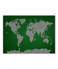 Michael Tompsett | Daily deals for moms, babies and kids - soccer balls world map