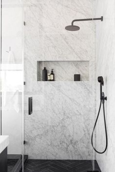 7 Resourceful Cool Ideas: Garden Tub To Shower Remodel small shower remodeling vanities.Walk In Shower Remodel Master Baths shower remodel no door bathroom ideas.Plastic Stand Up Shower Remodel. Modern Bathroom Design, Bathroom Interior Design, Modern House Design, Bath Design, Marble Interior, Modern Interior, Modern Decor, Interior Painting, Modern Coastal