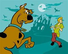 Scoobs and Shaggy we couldn't wait to watch every saturday morning:-)