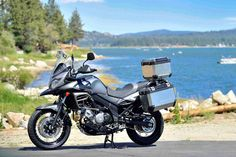 Suzuki V Strom 650 XT - the V Strom 650 is the best all around motorcycle in the world in many people's opinion