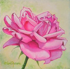 "For Sale: Baby Pink Rose by Teri Rosario | $100 | 8""w x 8""h 