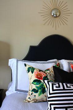 Paloma Contreras Design | Biscuit Bedding | Polka Dots | Greek Key
