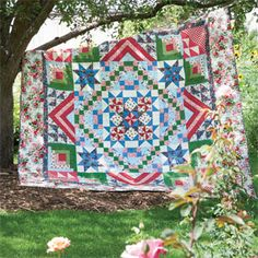 Cottage Romance: All-American Series Quilt Pattern 1 of 6