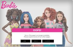 Mattel hires the most stupid people on the earth to run its website.