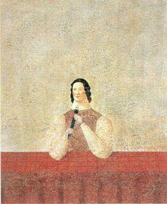 Toisio Arimoto 有元利夫「ささやかな時間」 Japanese Drawings, Japanese Artists, Figure Painting, Painting & Drawing, Japanese Painting, Japan Art, Illustration Art, Illustrations, Contemporary Paintings