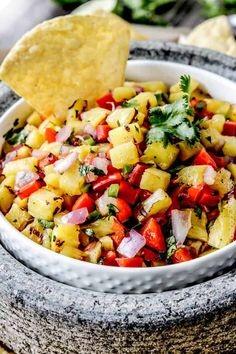 Pineapple Salsa made even more delicious by grilling the pineapple, red bell peppers, red onions AND jalapeno! Possibly the best sweet and smokey salsa E-V-E-R! This Pineapple Salsa makes everything better! Serve it as a dip or on fish, chicken, tacos, etc! Grilling season ishere! I have to admit, it wasn't until last year that...Read More »