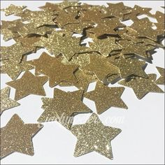 Your event will sparkle with gold glitter star confetti! Easily decorate tables at Twinkle, Twinkle theme baby showers or first birthdays! A glam way to celebrate the Graduate too. Premium quality car