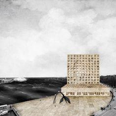Laurent de Carniere · Guggenheim Museum Helsinki - Perpendicular · Divisare