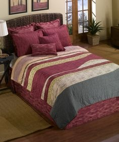 Another great find on #zulily! Painted Canyon Quilt Set #zulilyfinds