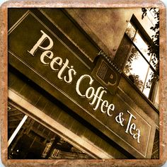My favorite Peet's Coffee every-single morning!!
