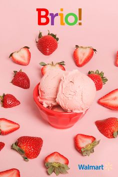 What has less sugar, calories, and fat, but is ultra rich, creamy, and big on all-natural flavor? Brio Ice Cream.