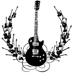77 best tattoo ideas images music is life music instruments Les Paul Natural Maple Neck artwork guitar tattoo guitar art cool guitar guitar tips acoustic drum