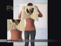 """Latest Trend from Taiwan - Magic Scarf:  this is NOT  a """"how to"""" but a how to wear the scarf..."""