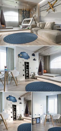 Cool Room Ideas for the Coolest Kid in the House. Every kid dreams of having a chic, fine room. While you could afford that, check these cool room ideas that will make your kid's jaw drop. Interior Design Living Room, Living Room Decor, Bedroom Decor, Design Interior, Bedroom Wall, Wall Decor, Girl Bedroom Designs, Girls Bedroom, Design Bedroom