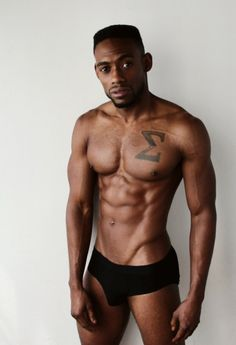 Black Muscle Ink Leather Kink