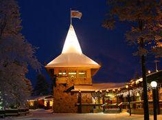 Bureau de Poste du Père Noël à Rovaniemi en Laponie en Finlande