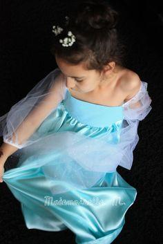 Reine des Neiges Frozen Robe Dress                                                                                                                                                                                 Plus