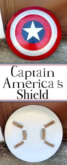 Make Captain America's shield using polystyrene and fiberglass. The perfect addition to your costume / cosplay.