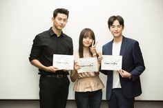 Taecyeon, Kim So Hyun, and more gather for 'Hey Ghost, Let's Fight' script reading | allkpop.com