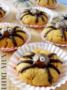 Les cookies araignées (Halloween)