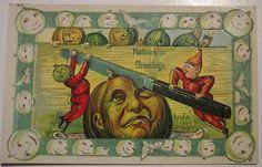 Vintage Halloween Postcard Gottschalk, Dreyfuss & Davis by riptheskull, via Flickr