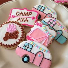 Amaretti from Italy - HQ Recipes Cute Cookies, Cupcake Cookies, Sugar Cookies, Fall Cookies, Cupcake Party, Glam Camping, Camping Parties, Parties Kids, Mouse Parties