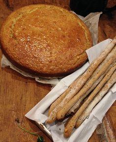 Pedro Lambertini- Torta griega de yogur, miel y pistachos  GreenVivant
