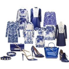 Designer Clothes, Shoes & Bags for Women Delft, Shoe Bag, Polyvore, Prints, Stuff To Buy, Accessories, Shopping, Collection, Shoes
