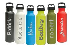 Custom Double Insulated Vacuum Water Bottle 25oz by FactoryEnova