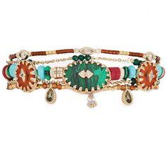 Manchette Sherpa Green HIPANEMA - Bracelet Femme Hipanema - 😍Découvrir ici -  #Hipanema #BraceletHipanema #manchette  #bijoux #Bracelet #Braceletfemme #Bijouxfemme #tendances Bracelet Swarovski, 14 Carat, Turquoise, Pandora Charms, Charmed, Bracelets, Jewelry, Fashion, Moda