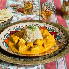 Curry De Pollo Con Roti (MURGH CHICKEN CURRY) Cocina Hindú   La Cocina De Frabisa