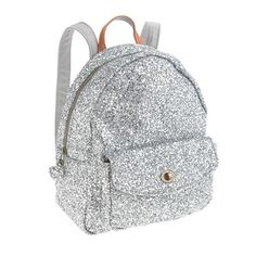 Girls' mini glitter backpack is too cute!  Alina and I would fight over it.