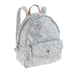 J.Crew - Girls' mini glitter backpack