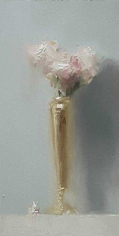 Neil Carroll Original Oil Painting Realism Impressionism Still Life Flowers