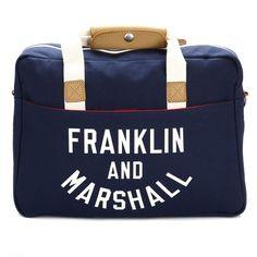 Franklin & Marshall Dark Blue Varsity Reporter Bag