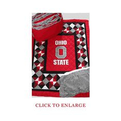 Ohio State Bed Set