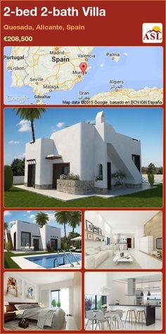 2-bed 2-bath Villa in Quesada, Alicante, Spain ►€208,500 #PropertyForSaleInSpain