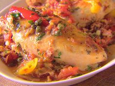 Roman chicken    This is an awesome chicken recipe!   TRY IT