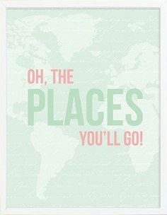 So many places you would never go otherwise...