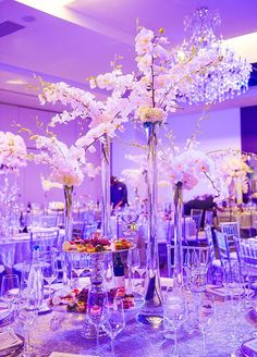 Seriously Stunning Wedding Centerpieces. To see more: http://www.modwedding.com/2014/10/03/seriously-stunning-wedding-centerpieces/ #wedding #weddings #weddingcenterpieceideas Via Colin Cowie Celebrations