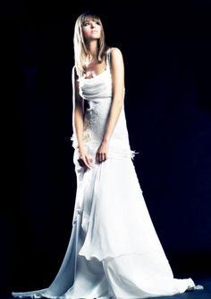 Suknia ślubna venika delikatna i zwiewna