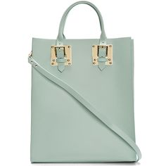 Sophie Hulme leather buckled tote