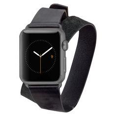 Case-Mate Apple Watch 38mm - Double Wrap Band - Black, Women's