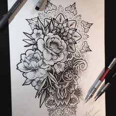 with sunflowers instead – Flower Tattoos Forearm Flower Tattoo, Forearm Tattoos, Body Art Tattoos, Sleeve Tattoos, Mandala Flower Tattoos, Feather Tattoos, Tattoo Art, Weird Tattoos, Mini Tattoos