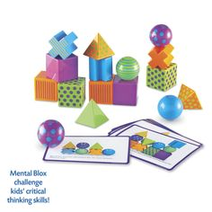 Mental Blox - Educational Toys, Specialty Toys and Games - Creative, Award Winning for Science, Math and More | Young Explorers