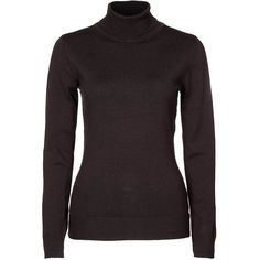 Fransa Jumper ($26) ❤ liked on Polyvore featuring tops, sweaters, brown, jumpers, women's sportswear, jumper top, brown sweater, jumpers sweaters and brown tops
